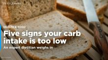 Five signs that your carb levels are too low