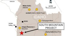 Phase 2 Underground Drill Program Commences atThe South Mountain High-Grade Zinc-Silver-Gold-Copper Project