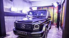 終極現身-全新 Mercedes-AMG G63 右駕版真身登陸香港