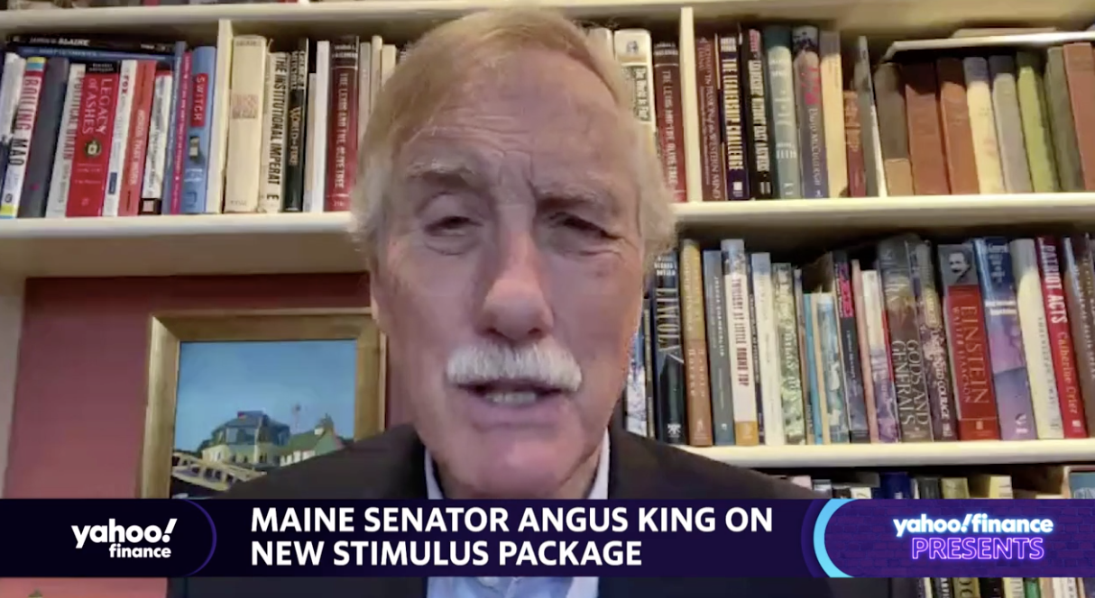 If Trump opens up economy too soon, he 'owns it,' says Senator King
