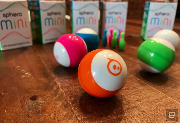 Sphero's Mini app-powered robot is its smallest one yet