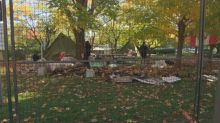 2 arrested after encampment at National War Memorial dismantled