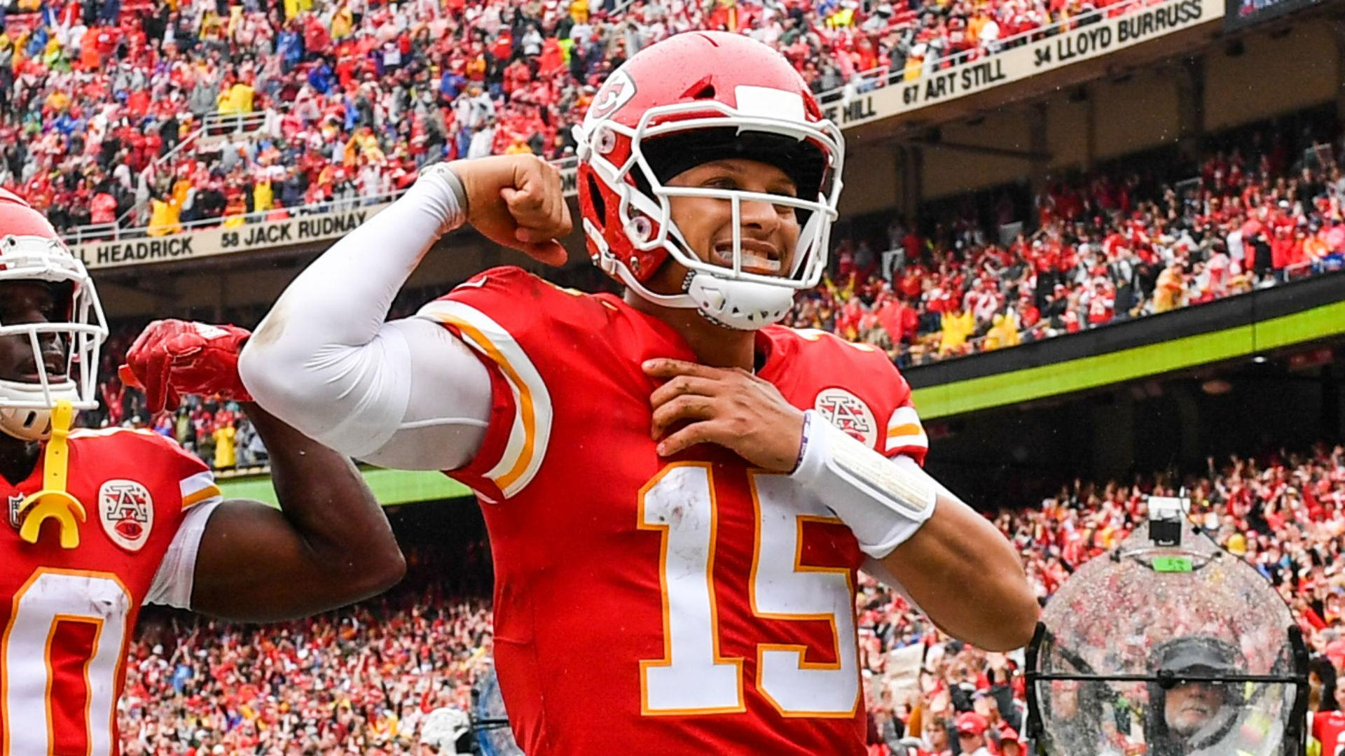 Mahomes Hoping To Ketchup To Heinz S Touchdown Target
