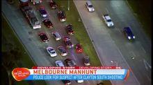 Manhunt for Melbourne gunman