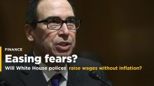Mnuchin Says Trump Policies Will Raise Wages Without Inflation