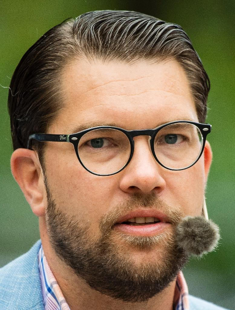 Sweden Democrats leader Jimmie Akesson has received a death threat according to the party