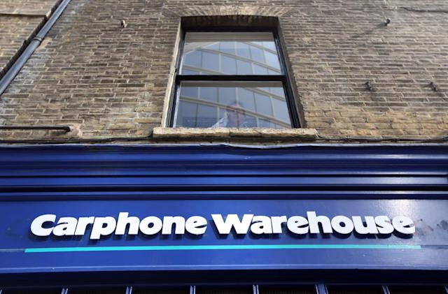 Carphone Warehouse says a lack of 'innovation' is hurting sales