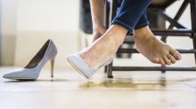 Tipp für schmerzende Füße: Influencerin verrät ihren Trick für High Heels