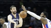 Marc Gasol dominates Pistons after coach calls out Grizz leadership