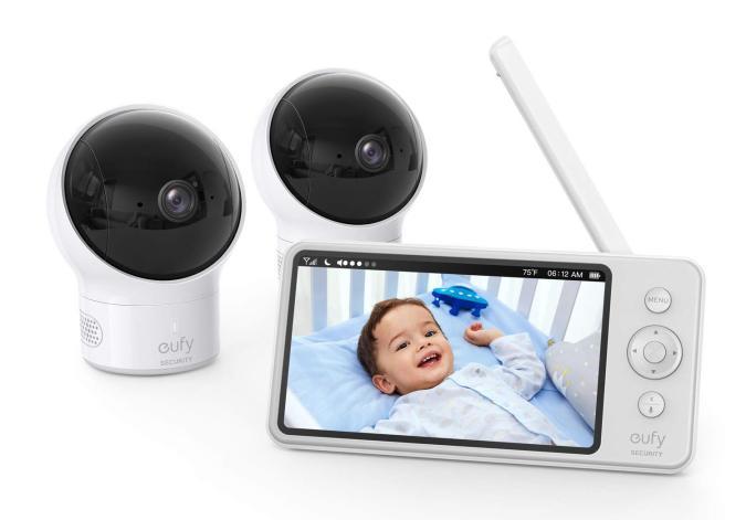 Eufy two camera baby monitor