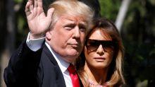 Trump Misspells Melania's Name In Welcome Home Tweet, Twitter Roars