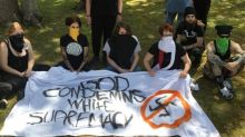 Police Guard White Nationalist Conference At Tennessee State Park From Protesters