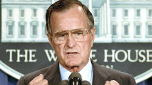 Former President George H.W. Bush's tortured relationship with economics