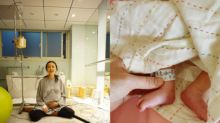 Ivy Chen announces baby's birth