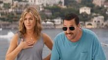 Jennifer Aniston and Adam Sandler talk 'Murder Mystery,' reflect on 'The Rachel' hairstyle