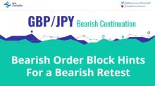 GBP/JPY Bearish Order Block Might Show Fresh Sellers