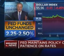 Fed's commitment to leave rates unchanged for 2019 is rad...