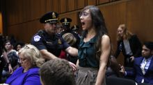 Kavanaugh hearing starts with a bang as protesters, Dems interrupt opening statements