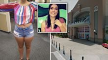 Teen claims she was kicked out of shopping centre because of her shorts