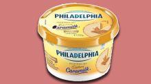 Cadbury Caramilk cream cheese is now a thing