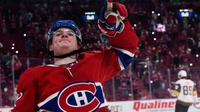 Canadiens complete huge upset of Golden Knights