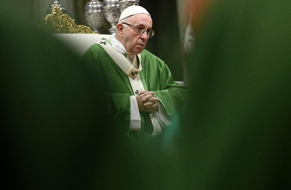 """Pope Francis called a deadly attack on a synagogue in the United States """"an inhuman act of violence"""""""