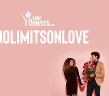 1-800-Flowers.com Declares #NoLimitsOnLove This Valentine's Day