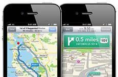 Driving around with Maps for iOS 6