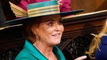 The special jewel Sarah Ferguson wore to Princess Eugenie's wedding - and no one noticed