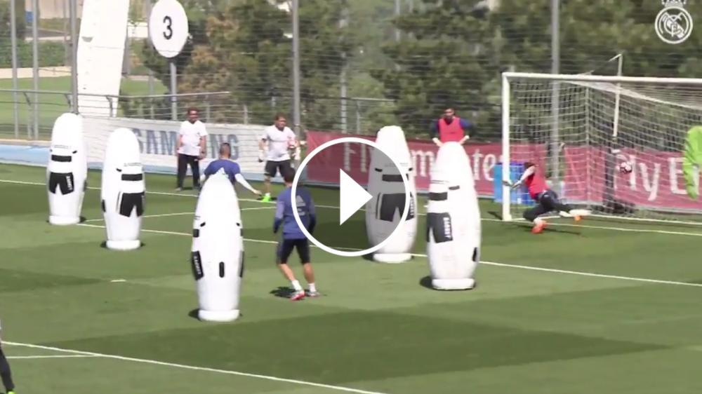 VÍDEO: ¡Tiembla el Barcelona! Morata y Benzema golean al primer toque