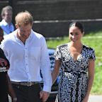 Meghan Markle's Sold-Out Printed Wrap Dress Has a Special Meaning