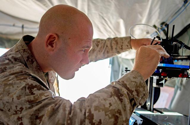 3D printing will revolutionize how the Marine Corps fights