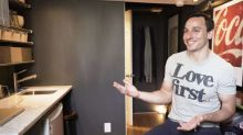 Extreme Minimalists: NYC resident takes us inside his 150 square foot apartment