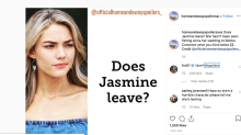 Home and Away star Sam Frost addresses Jasmine exit talk
