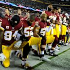 Donald Trump says American Football stars who protest anthem should be suspended for season