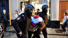 Scores detained after Russian opposition event: rights group