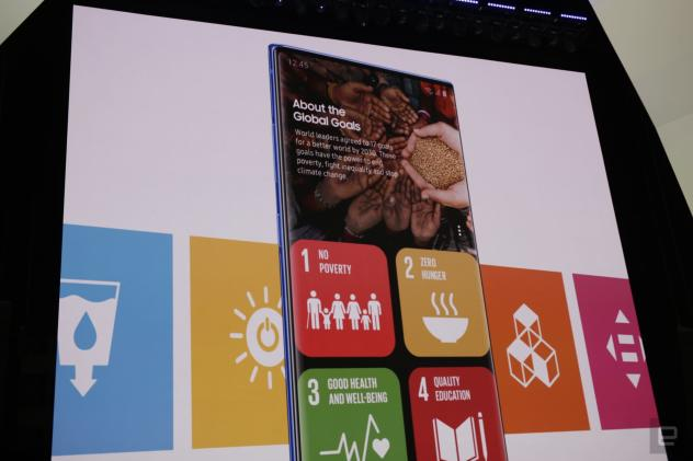 Samsung teams up with the UN on sustainability efforts
