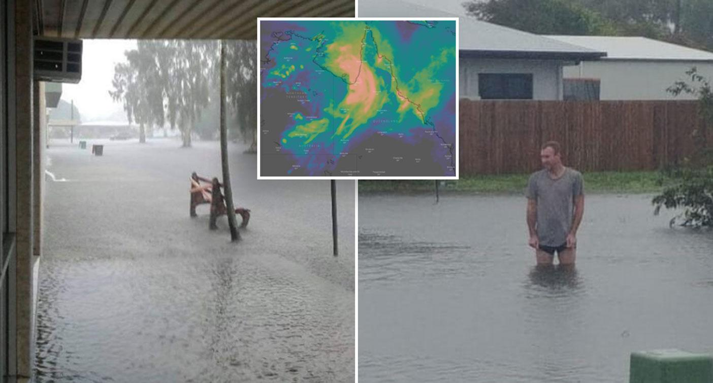 Map reveals alarming 10-day forecast - amid warning over 'very damaging' floods