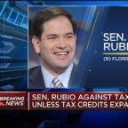 Sen. Marco Rubio against tax bill unless tax credits expa...