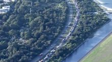 Traffic chaos near Sydney Airport as man dies in horror crash