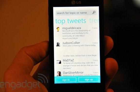 Official Twitter app for Windows Phone 7 goes live (update: hands-on)
