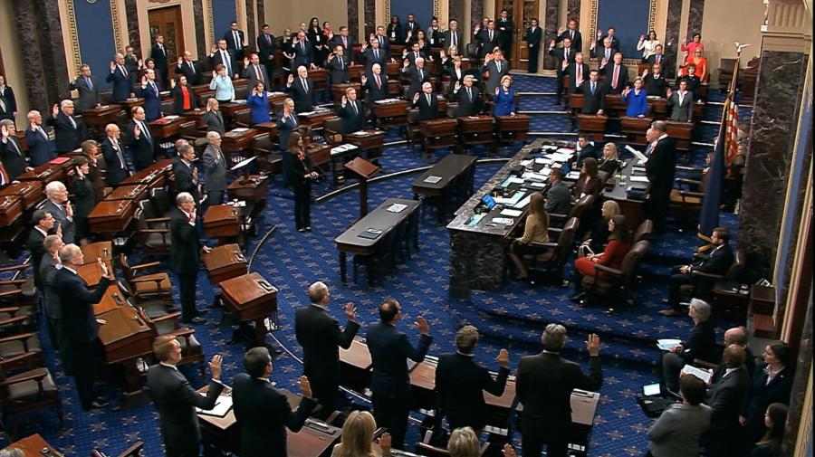 Senators may not have full story in Trump trial