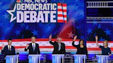 Democrats unite at debate in endorsing health care to undocumented immigrants