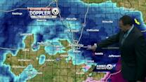 2 PM Update: A break before more snow arrives