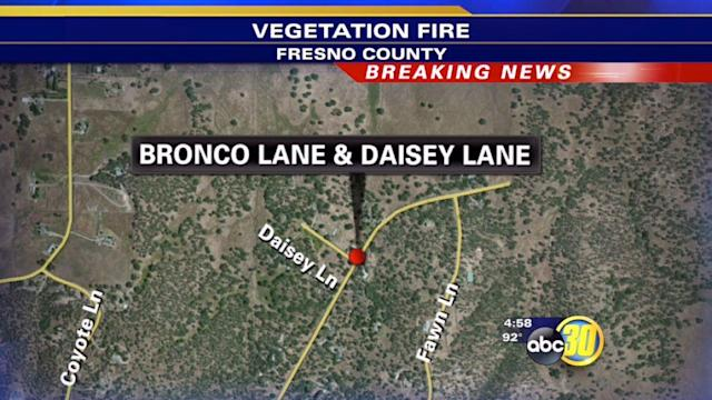 Firefighters contain fire in Squaw Valley