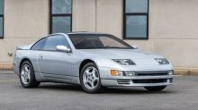 This nearly new 1990 Nissan 300ZX Twin-Turbo is going up for auction