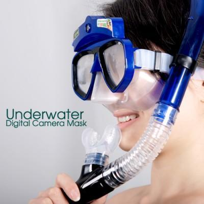 Underwater Scuba Mask Camera does photos and videos, lets you breathe