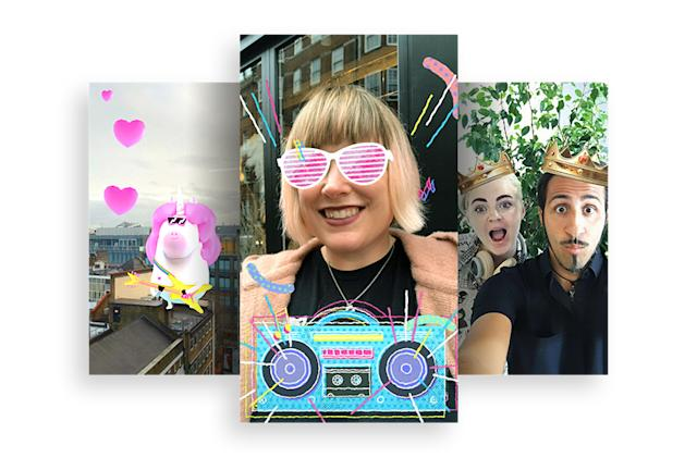 Facebook continues AR push with tracking, audio and location tools