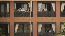 La vida en el hotel de Tenerife en cuarentena por el coronavirus: los huéspedes se quejan de la falta de información
