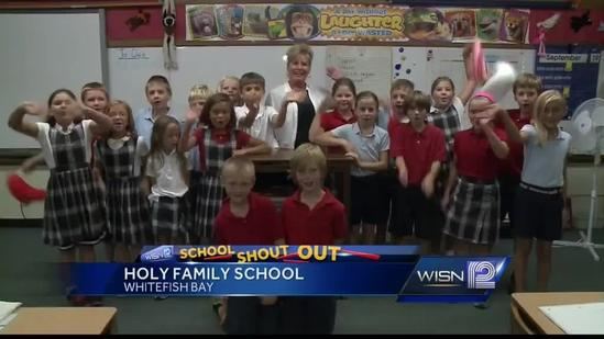 10/4 Shout Out: Miss Flaminio, Holy Family School